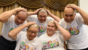 More than 160 ComfortDelGro Cabbies To Go Bald for Charity
