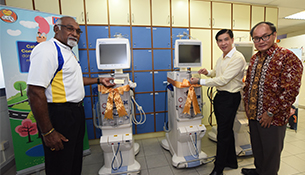 ComfortDelGro Cabbies Donate New Haemodiafiltration Machines To KDF
