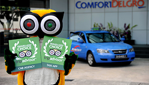 TripAdvisor Names ComfortDelGro Taxis Spore's Favourite For The Second Year Running