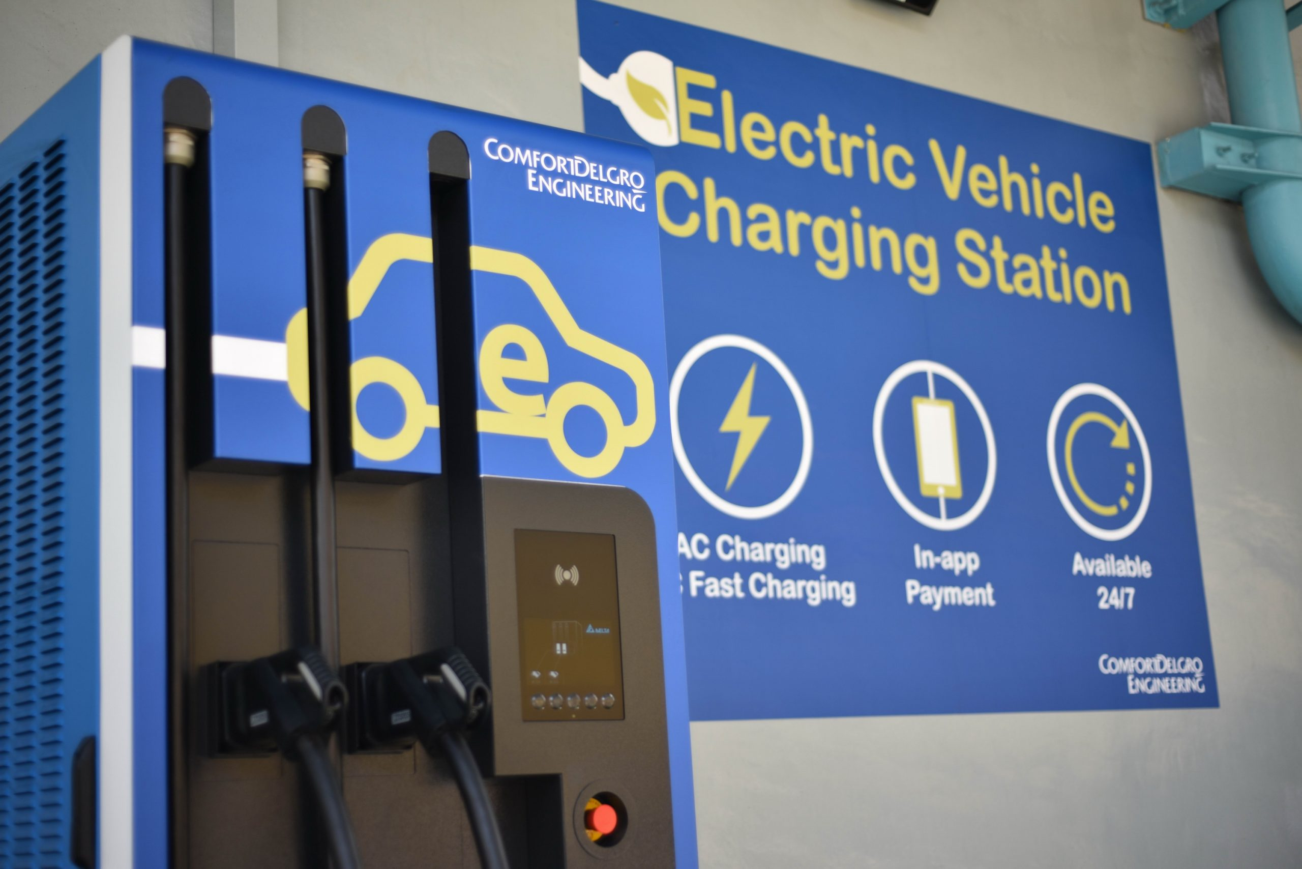 ComfortDelGro Introduces Fastest DC Fast Charger For Electric Vehicles In Singapore