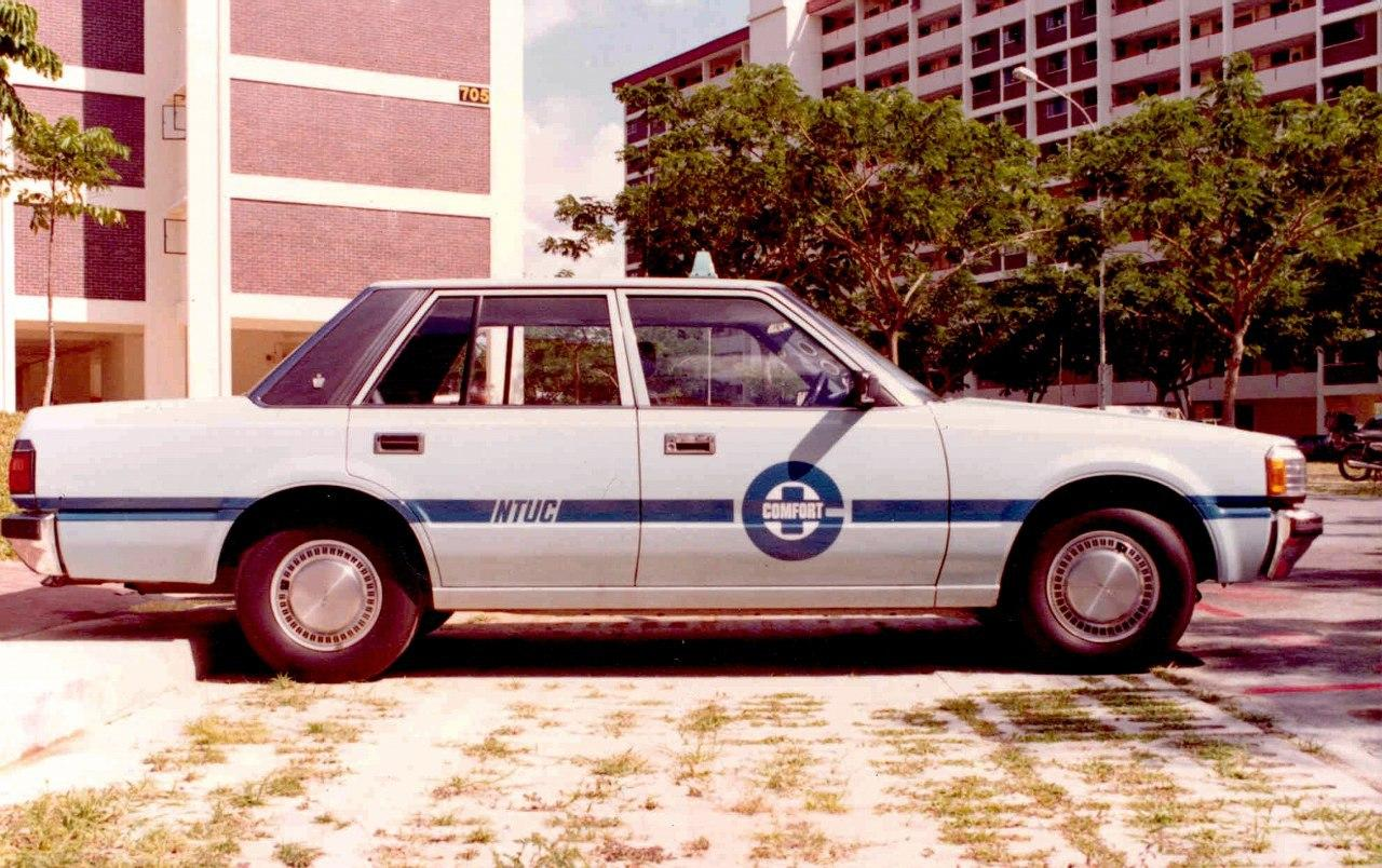 Do you remember how taxis used to look like?