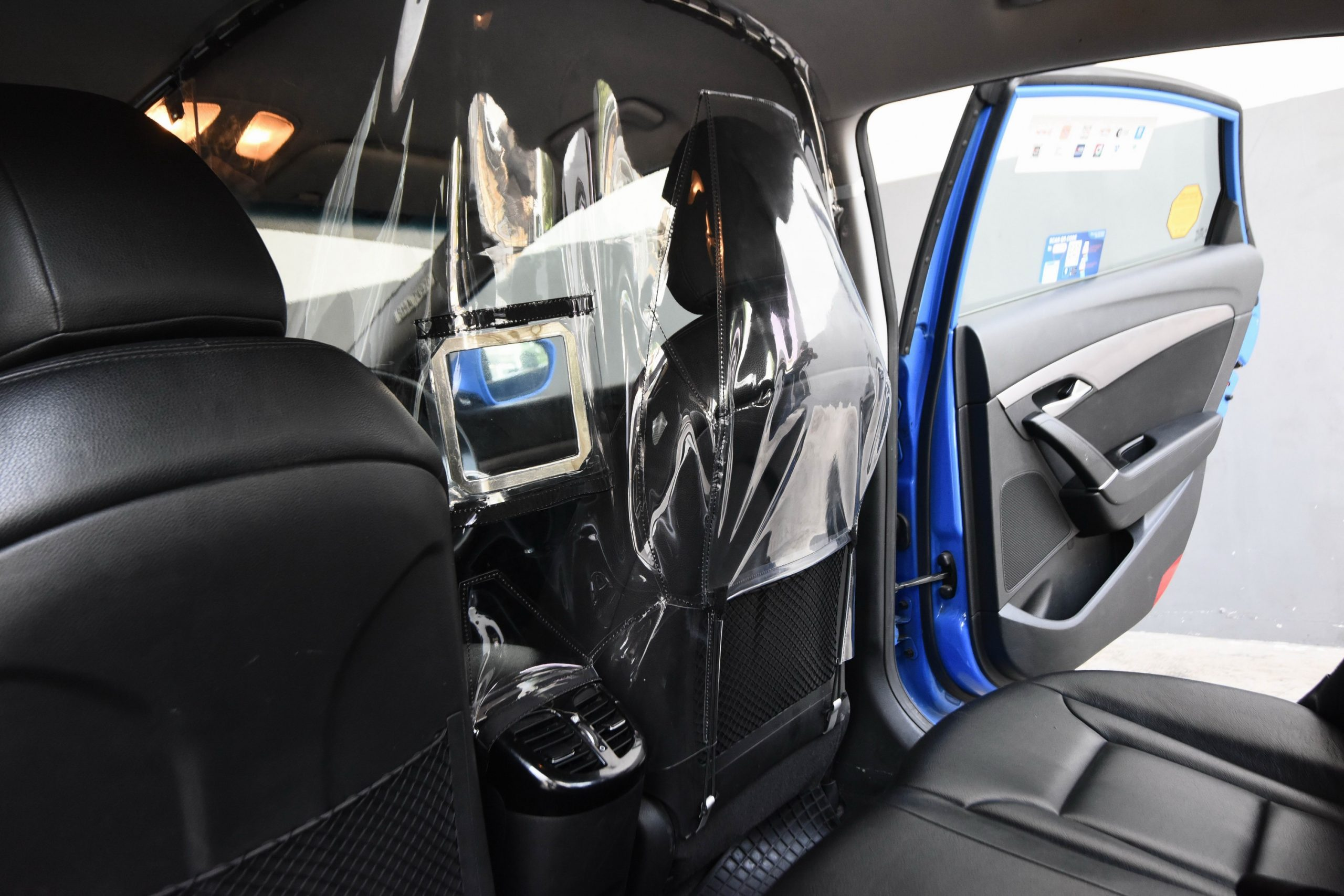 ComfortDelGro Taxi Embarks On Cabin Shield Trial