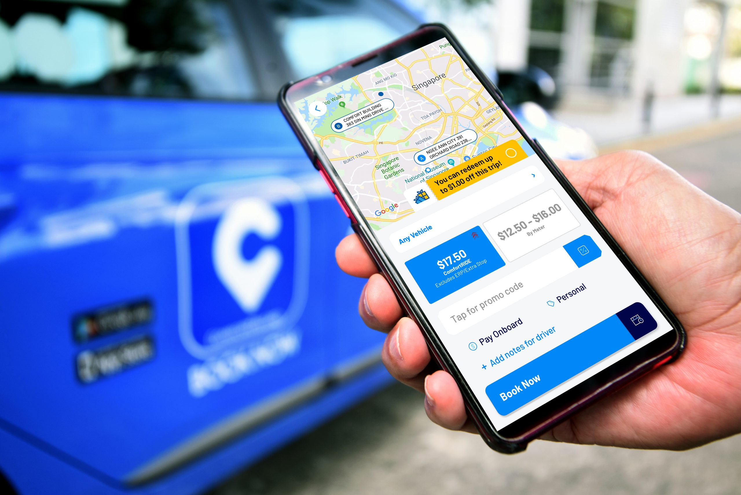 Check out why it is always good to compare taxi fares!