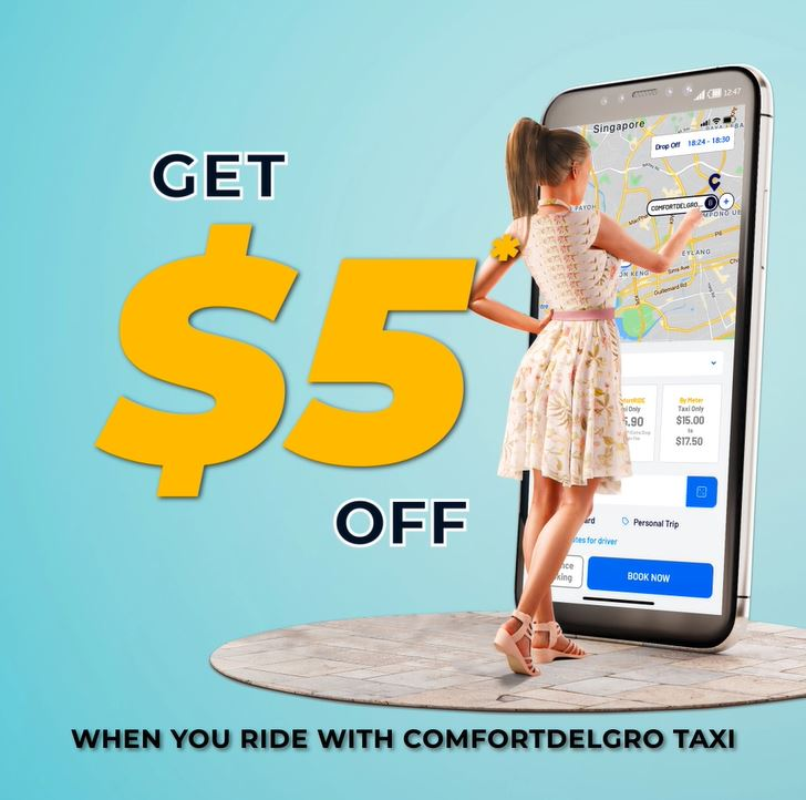 Get $5 Off Taxi Rides